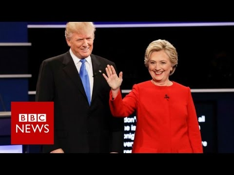 Hillary Clinton vs Donald Trump (First TV Debate Highlights) - BBC News