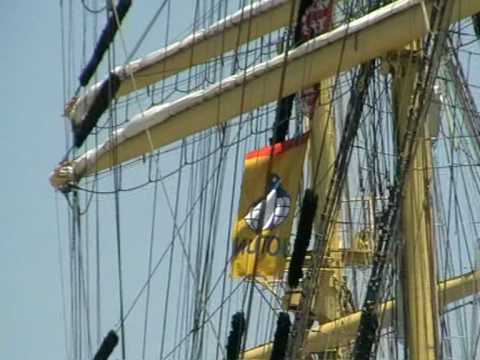 Mir tall sailing ship- Chios Port-Chios island Greece