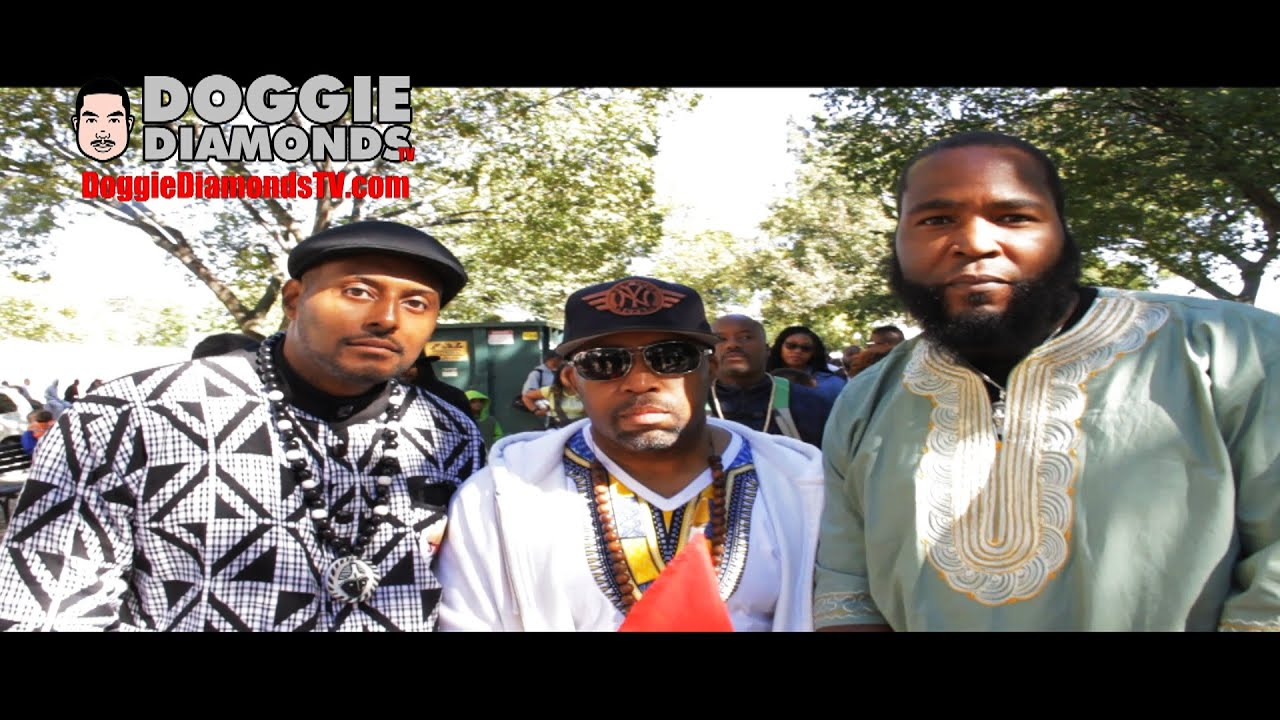 Dr Umar Johnson And The Irritated Genie Building At The Million Man March