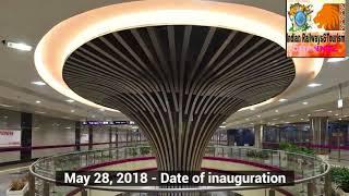 Delhi metro magenta line,indian railway &tourism