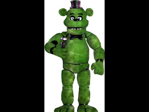 FNAF SPEED EDIT: making CACTUS FREDDY !!! + download link of the picture