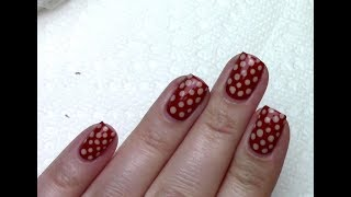 Tutorial Time: Easy Polka Dot Nails