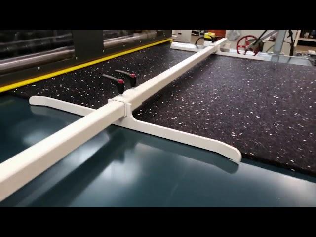 IMESA Model 1EX-22 Multi-Blade Slitter with Conveyor Belt