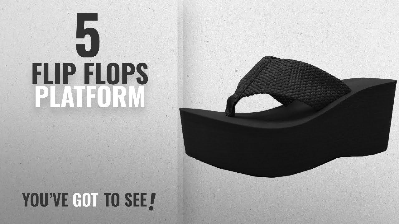 340e4e4f9b7 Top 5 Flip Flops Platform  2018   Cambridge Select Women s Comfy ...