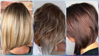 20 popular ideas for bob haircuts for fine thin hair