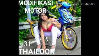 MODIFIKASI MOTOR HONDA BEAT THAILOOK DENGAN MODEL ADU HAY