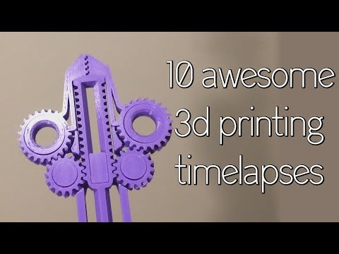 Satisfying 3D Print TimeLapse Compilation 3 (Prusa I3 Mk3 Octolapse)