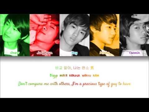 SHINee-  A.MI.GO (Color-Coded Lyrics)