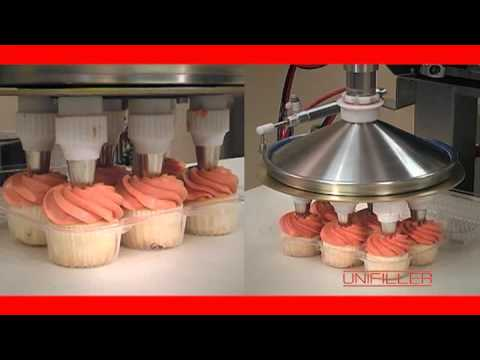 Cake Decorating Equipment Usa : Unfiller Depositors & Decorating Equipment for Cupcake ...