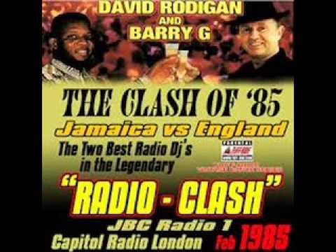 Barry G vs David Rodigan  - Legendary Radio Clash 1985 pt1