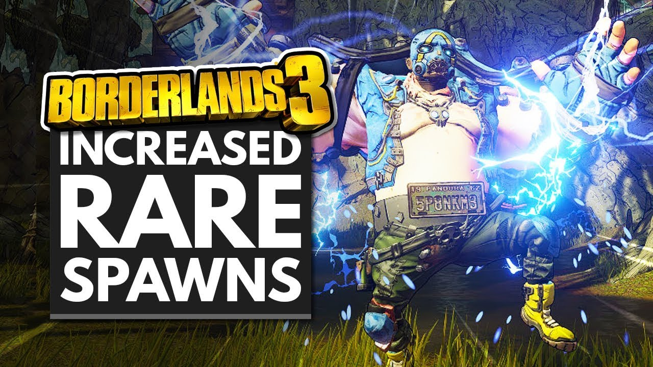 BORDERLANDS 3 | Increased RARE SPAWNS & Legendary Drop Rate - Anniversary Event thumbnail