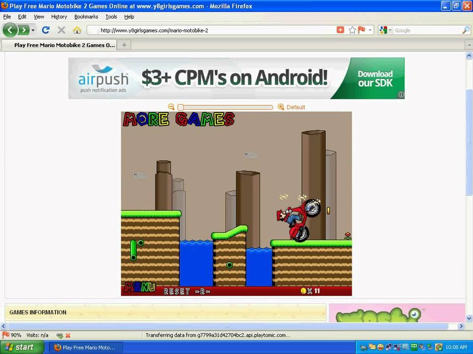 Y8 - Y8GirlsGames.com (Mario) - YouTube