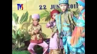 Fashion Show Busana Muslim Anak-Anak Lucu (Perpisahan TK ABA LABUHAN )