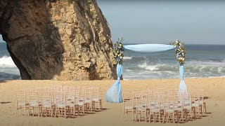 Beach Wedding in Portugal ~ by Lisbon Wedding Planner