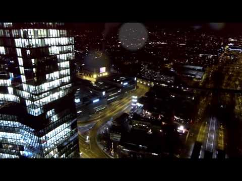 Zurich Night flight