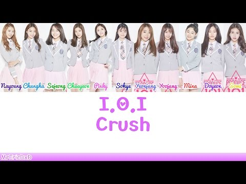I.O.I (아이오아이): Crush Lyrics