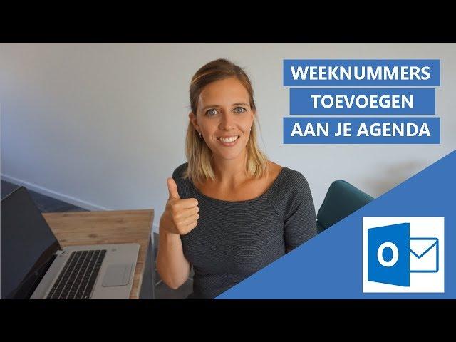 Hoe voeg je Weeknummers toe aan je Outlook Agenda?