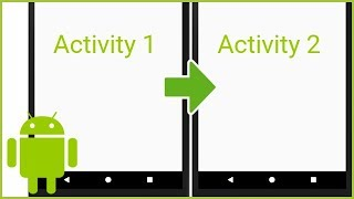How to Make a Button Open a New Activity - Android Studio Tutorial