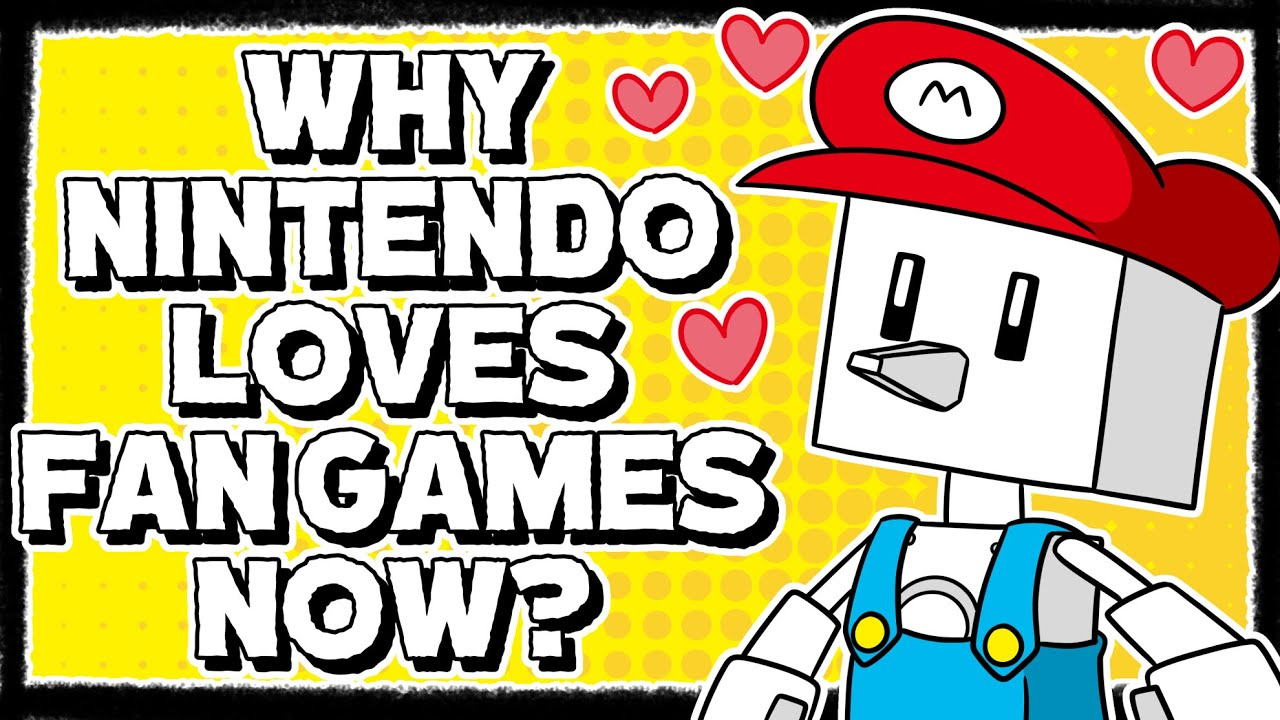 Why Nintendo is Embracing Fan Games With Game Builder Garage