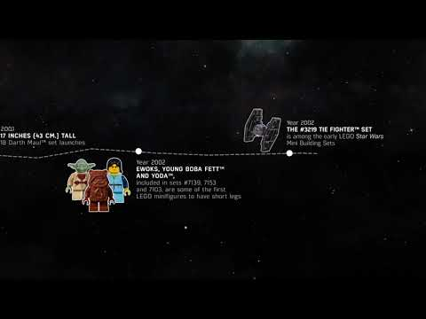 Timeline And History Of 20 Years Of Lego Star Wars Find Your Inner Geek
