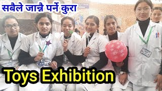 Toys Exhibition by Kathmandu Nursing College Sisters in Nepali