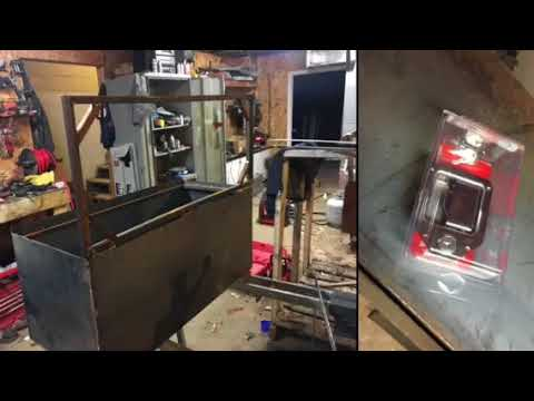 DIY metal toolbox for flatbed