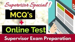 MCQ's & Online Test for JKSSB Supervisor Exam   Best way to crack Supervisor Exam !