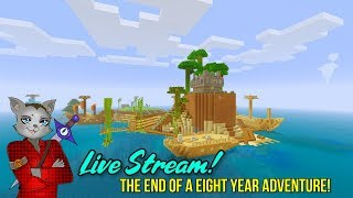 Minecraft Survival Island - The Final Journey For Legacy Edition! (Minecraft Survival Live Stream)