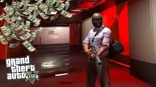 ФРАНКЛИН ГРАБИТ БАНК в СЕВЕРНОМ ЯНКТОНЕ!! - GTA 5 РЕАЛЬНАЯ ЖИЗНЬ (ГТА 5 МОДЫ)