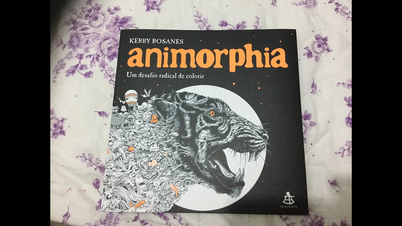 Animorphia an extreme coloring and search challenge by kerby rosanes - Review Of Animorphia Kerby Rosanes
