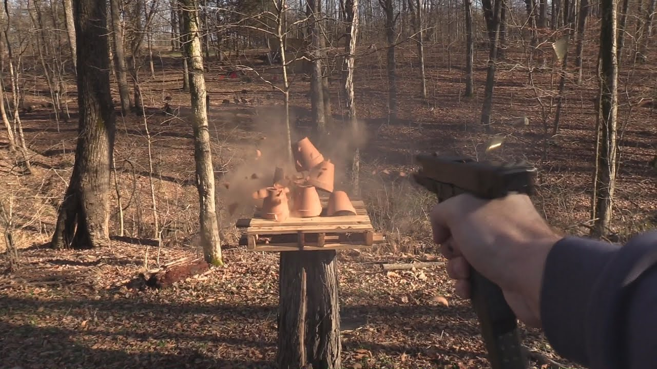 Glock 18 Pot Smoking
