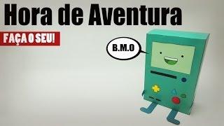 Hora de Aventura BMO Papercraft: Faça o seu!