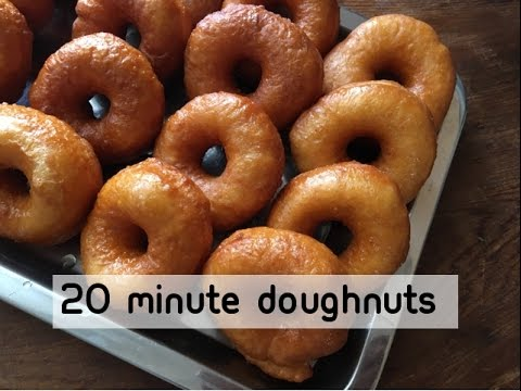 20 Minute Donuts - No Yeast - Episode 234 - Baking With Eda