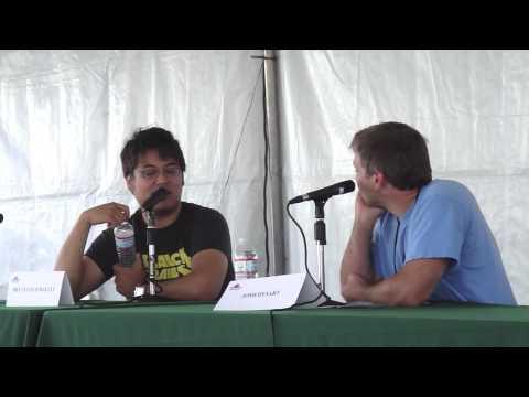 Bryan Lee O'Malley talks about the Scott Pilgrim movie