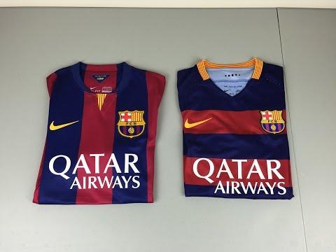 2015 vs 2016 Authentic FC Barcelona Home Jersey - Comparison (4K)