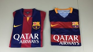 2015 vs 2016 Authentic FC Barcelona Home Jersey - Comparison (4K)