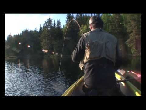 Fiske fra kano