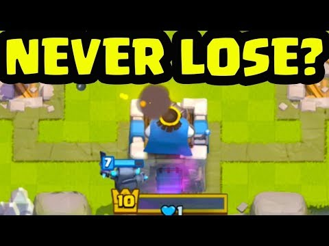 How To Never Lose Trophies In Clash Royale No Root😱😱