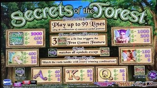 HIGH LIMIT FUN BONUSES- SECRETS OF THE FORREST SLOT MACHINE BONUS(HIGH LIMIT FUN BONUSES- SECRETS OF THE FORREST SLOT MACHINE BONUS Like Vegas Slot Videos by Dianaevoni on Facebook: ..., 2016-09-27T17:00:04.000Z)