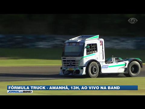 Neste domingo tem Fórmula Truck ao vivo na tela da Band