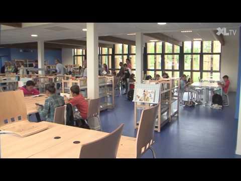 Inauguration d'un nouveau collège à Labrit