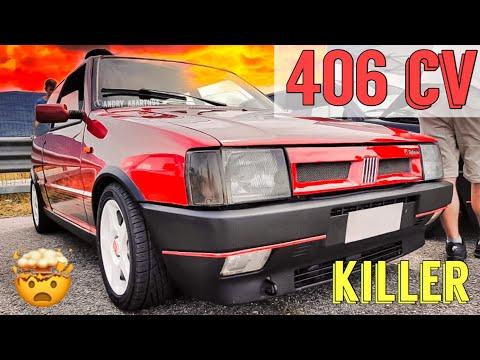 Fiat UNO TURBO Killer Da 406 Cv | 300Kmh NON CI CREDO Mi Ha SPAVENTATO | Andry Abarth94