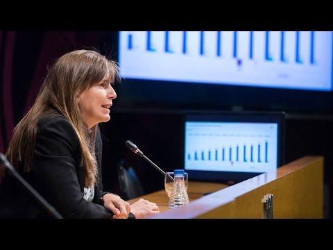 Roda de premsa de la vicepresidenta Susana Monje