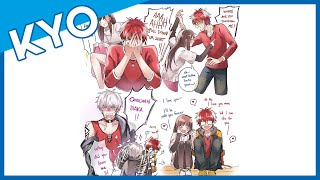 707 Days 9 And 10 In A Nutshell (Hilarious Mystic Messenger Comic Dub)