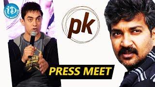 Aamir Khan Wants to Work With Rajamouli - PK Team Press Meet