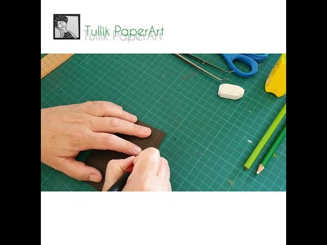 אז איך יוצרים בכלל חיתוך נייר?