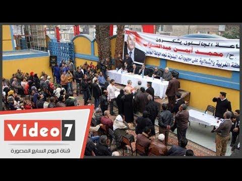محافظة القاهرة تسلم عقود سوق غزة الحضارى للباعة الجائلين