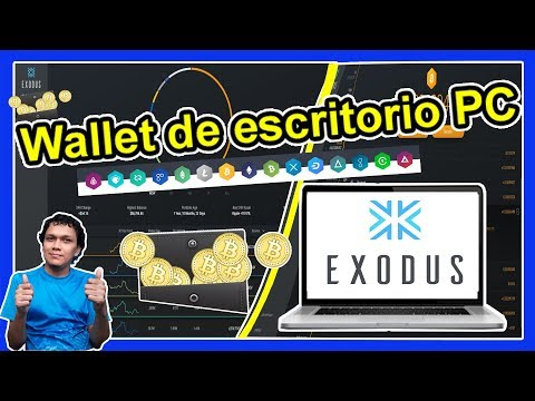 CUAL ES LA MEJOR CARTERA DE CRYPTOMONEDAS Y BITCOIN DE ESCRITORIO EXODUS WALLET