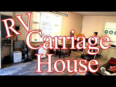 Couple Builds Carriage House For RV Extend Living