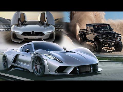 Tesla Гепард, Citroen который смог! Где Hennessey Venom F5? NFS The Run в реальности!